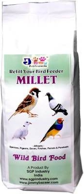 JiMMy Refill Your Bird Feeder - Millet- Wild Bird Food NA Bird Food(900 g Pack of 1)