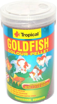 Tropical GoldFish Colour Pellet 360g/1000ml | For All GoldFish NA Fish Food