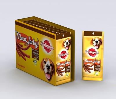 Pedigree Meat and Jerky Liver Liver Dog Food(720 Pack of 12)