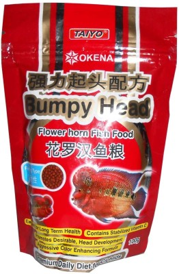 Taiyo Bumpy Head - Flower Horn Fish Food(100 g Pack of 1)