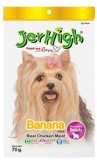 JerHigh 3 Pack of Banana 70gm Chicken Do...