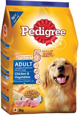Pedigree Adult Chicken & Vegetables Chicken, Vegetable Dog Food