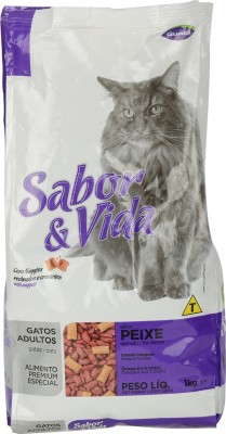 Sabor & Vida Cats Fish Cat Food(1 kg Pack of 1)