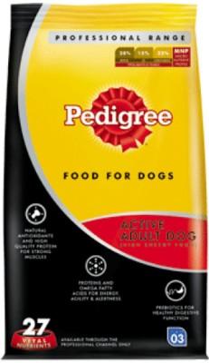Pedigree Professional Active Adult Chicken Dog Food