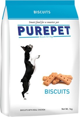 Purepet Purepet Biscuits Puppy Chicken Dog Food