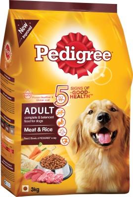 Pedigree Adult Meat & Rice Lamb Dog Food