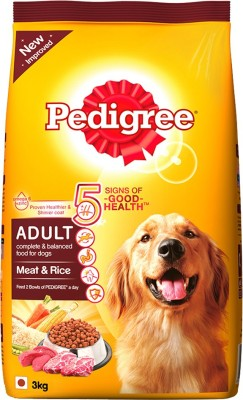 Pedigree Adult Rice Dog Food