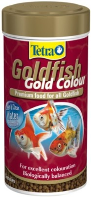 Tetra Goldfish Gold Colour 75g/250ml | For Excellent Coloration NA Fish Food