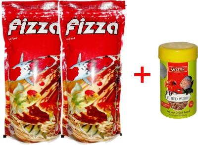 Hana Fizza 2x200gm +10gm Tubifex Worms Fish Fish Food