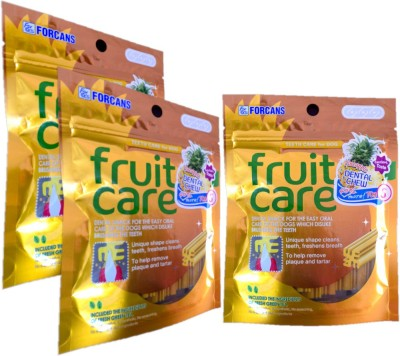 Forcans Fruit Care (Pinepple) S(Pack of 3) Fruit Dog Food