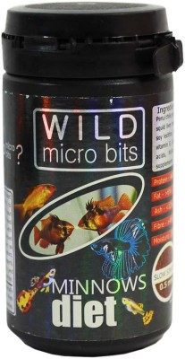 Aquatic Remedies Wild Micro Bits Minnows Diet 30g NA Fish Food