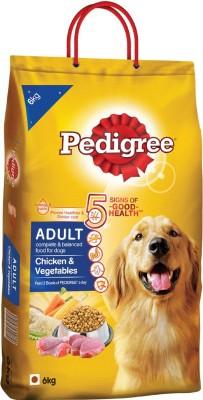 Pedigree Chicken & Vegetables Chicken, Vegetable Dog Food