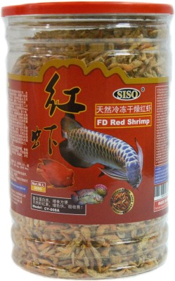 SISO FD Red Shrimp 500g | Healthy Food For All Fishes | NA Fish Food