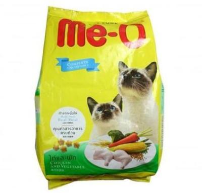 Me-O Chicken & Vegetable Chicken, Vegetable Cat Food