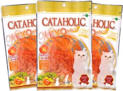Rena Neko Soft Jerky Sliced Chicken Cat Food(90 Pack of 3)