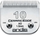 Andis blade 10 ceramic Steel Pet Hair Tr...