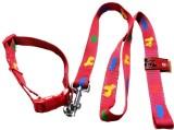 TommyChew 172.74 cm Dog Cord Leash (Red)
