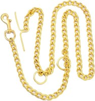 Kristal Dog Chain 152 cm Dog Chain Leash(Gold)