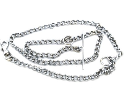 Kristal 152 cm Dog Chain Leash(Silver)