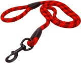 Pet Bliss 107 cm Dog Cord Leash (Red, Bl...