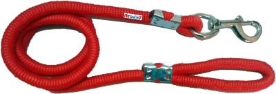 Petshop7 High Quality Red 18mm (width) and (Length) 155 cm Dog Cord Leash(Red)
