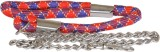 Pet Club51 135 cm Dog Chain Leash (Multi...