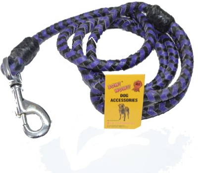 Bow! Wow !! 155 cm Dog Cord Leash(Black, Blue)