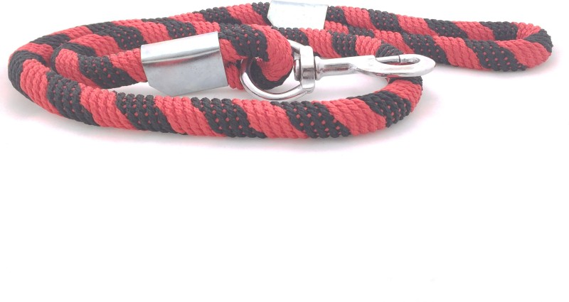 Scoobee 152 cm Dog Chain Leash(Red, Black)