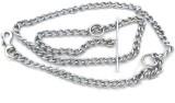 Clytius 152 cm Dog Chain Leash (White)