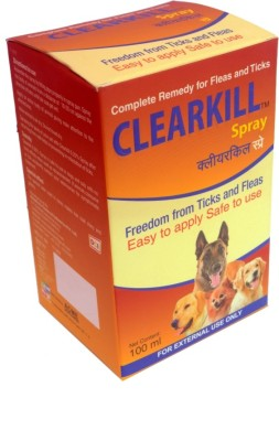 Clearkill Fleas & Tick Removal Spray(100 ml)