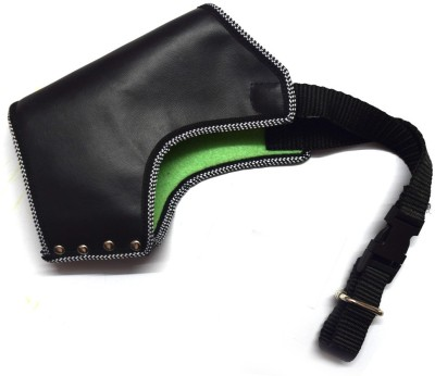 Large Strips Dog Muzzle(Black)