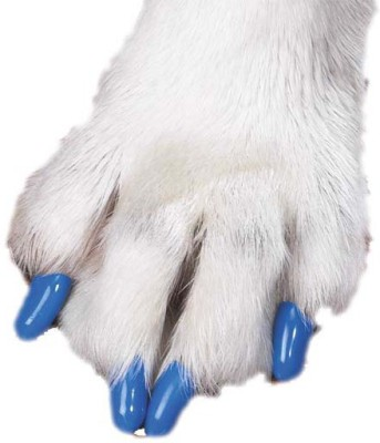 Futaba Nail Cap(Blue (Pet Nail) Dog)