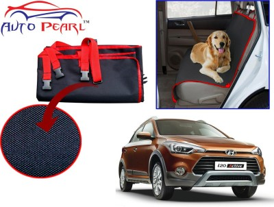 Auto Pearl PTC88 - Premium Make Red Black Car For - Hyundai I20 Active Hammock Pet Seat Cover