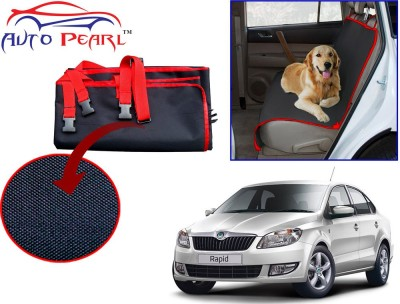 Auto Pearl PTC120 - Premium Make Red Black Car For - Skoda Rapid Hammock Pet Seat Cover