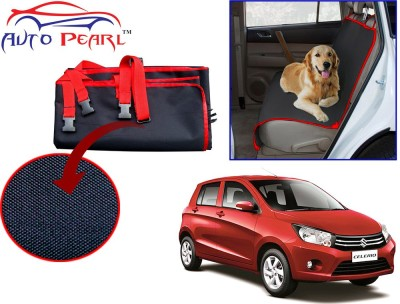 Auto Pearl Ptc48 - Premium Make Red Black Car For - Maruti Suzuki Celerio Hammock Pet Seat Cover