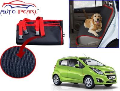 Auto Pearl Ptc42 - Premium Make Red Black Car For - Chevrolet Beat Hammock Pet Seat Cover(Black, Red Waterproof)