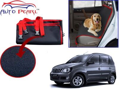 Auto Pearl PTC119 - Premium Make Red Black Car For - Mahindra Quanto Hammock Pet Seat Cover