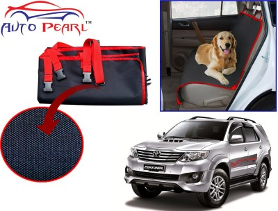 Auto Pearl Ptc74 - Premium Make Red Black Car For - Toyota Fortuner Hammock Pet Seat Cover