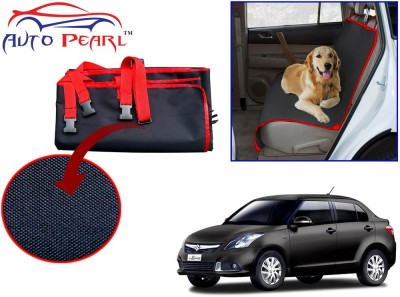 Auto Pearl Ptc57 - Premium Make Red Black Car For - Maruti Suzuki Swift Dzire New Hammock Pet Seat Cover