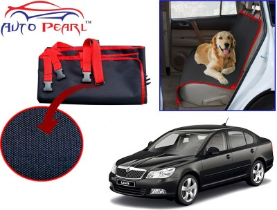 Auto Pearl PTC98 - Premium Make Red Black Car For - Skoda Laura Hammock Pet Seat Cover
