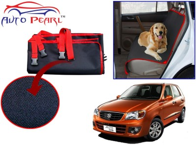 Auto Pearl Ptc36 - Premium Make Red Black Car For - Maruti Suzuki Alto_k10 Hammock Pet Seat Cover