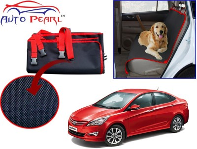 Auto Pearl PTC148 - Premium Make Red Black Car For - Hyundai Verna_Fluidic_4s Hammock Pet Seat Cover