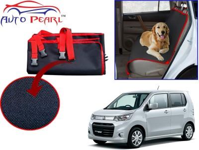 Auto Pearl PTC153 - Premium Make Red Black Car For - WagonR_Stingray Hammock Pet Seat Cover