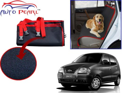 Auto Pearl PTC128 - Premium Make Red Black Car For - Hyundai Santro Hammock Pet Seat Cover