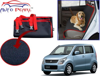 Auto Pearl PTC152 - Premium Make Red Black Car For - Maruti Suzuki WagonR_New Hammock Pet Seat Cover
