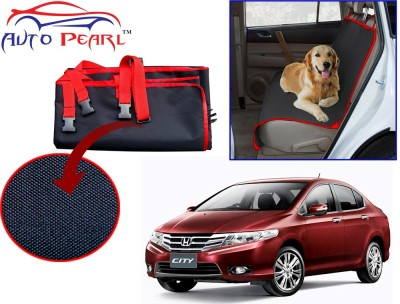 Auto Pearl PTC82 - Premium Make Red Black Car For - Honda_City_Old Hammock Pet Seat Cover