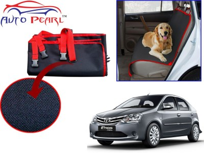 Auto Pearl Ptc68 - Premium Make Red Black Car For - Toyota Etios Hammock Pet Seat Cover