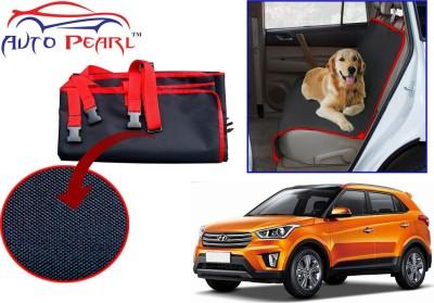 Auto Pearl Ptc51 - Premium Make Red Black Car For - Hyundai Creta Hammock Pet Seat Cover