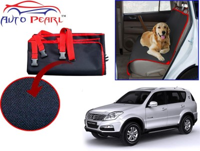 Auto Pearl PTC122 - Premium Make Red Black Car For - Mahindra Rexton Hammock Pet Seat Cover