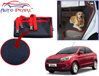 Auto Pearl PTC164 - Premium Make Red Black Car For - Ford Figo Aspire Hammock Pet Seat Cover